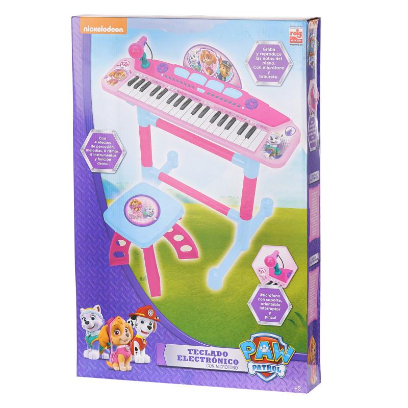 Παιδικό ηλεκτρονικό πιάνο με μικρόφωνο και καρέκλα  96135