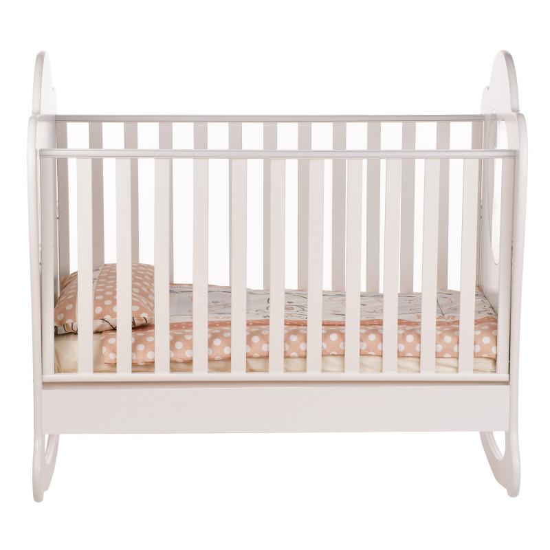Παιδικό κρεβάτι, με αρκούδα και καρδιές  97695