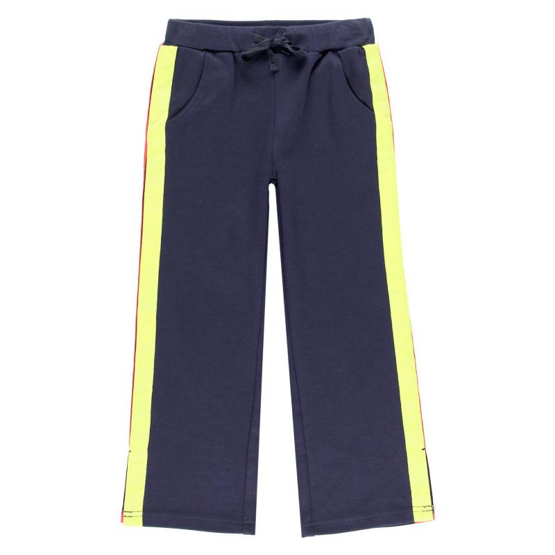 Παντελόνι με διακοσμητικές ρίγες, για κορίτσι  99148